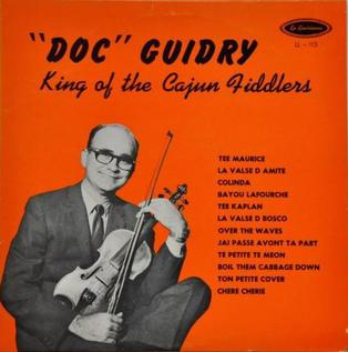 Doc Guidry American fiddle player