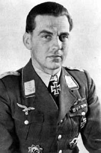 Hans Ehlers German fighter pilot during World War II