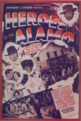 <i>Heroes of the Alamo</i> 1937 film by Harry L. Fraser