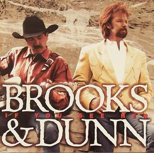 <i>If You See Her</i> 1998 studio album by Brooks & Dunn
