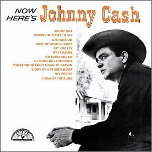 Now Here's Johnny Cash artwork