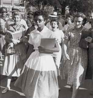 File:Little Rock Desegregation 1957.jpg