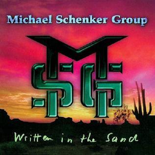 <i>Written in the Sand</i> (album) 1996 studio album by Michael Schenker Group