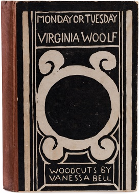 <i>Monday or Tuesday</i> book by Virginia Woolf