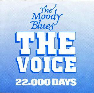 The Voice (The Moody Blues song) 1981 song by The Moody Blues