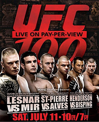 UFC 100 UFC mixed martial arts event in 2009