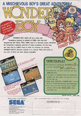 Picture of a game: Wonder Boy