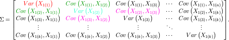 \Sigma=\begin{bmatrix} 