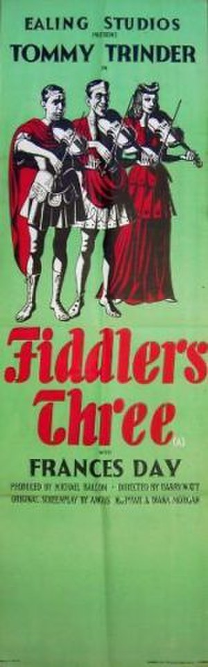 Fiddlers Three (1944 film) - UK theatrical poster