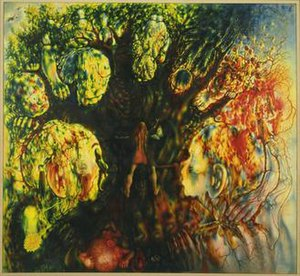 Hide-and-Seek (painting) - Hide-and-Seek by Pavel Tchelitchew