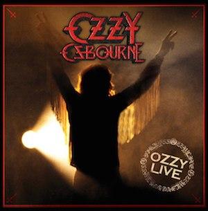 Diary of a Madman (album) - Image: 'Ozzy Live' vinyl