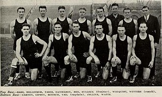 1920–21 Illinois Fighting Illini men's basketball team - Image: 1920 21 Fighting Illini men's basketball team