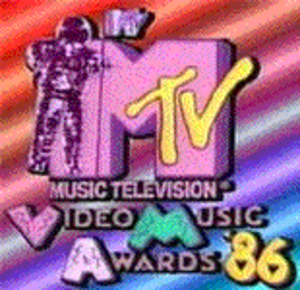 1986 MTV Video Music Awards - Image: 1986 mtv vma logo