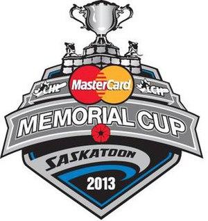 2013 Memorial Cup - Image: 2013 Memorial Cup Logo