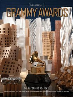 54th Annual Grammy Awards event held on February 12, 2012