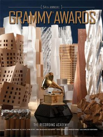 54th Annual Grammy Awards - Image: 54th Grammy Award Poster