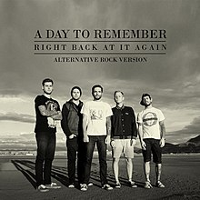 Right back at it again wikipedia single by a day to remember voltagebd Choice Image