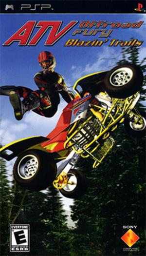 ATV Offroad Fury: Blazin' Trails - Image: ATV Offroad Fury Blazin' Trails Coverart