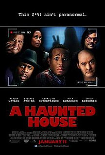 <i>A Haunted House</i> 2013 film directed by Michael Tiddes