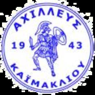 Achilleas Kaimakli - Image: Achilleas Kaimakli logo