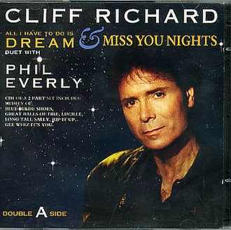 Miss You Nights - Image: All I Have To Do Miss You Nights Cliff Richard