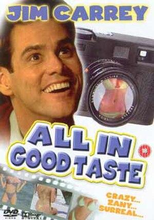 All in Good Taste - Image: Allingoodtastecover