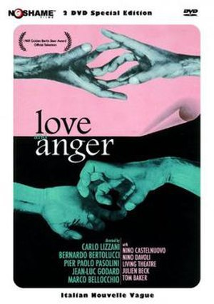 Love and Anger (film) - Image: Amore e rabbia Film Poster