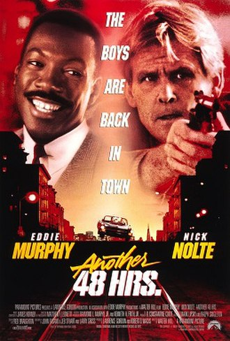 Another 48 Hrs. - Theatrical release poster