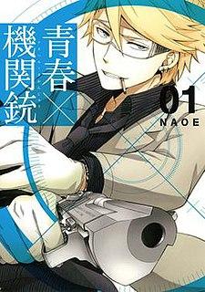 <i>Aoharu × Machinegun</i> Japanese manga series