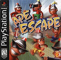 Picture of a game: Ape Escape