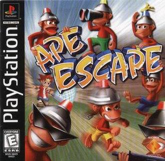 Ape Escape (video game) - North American cover art