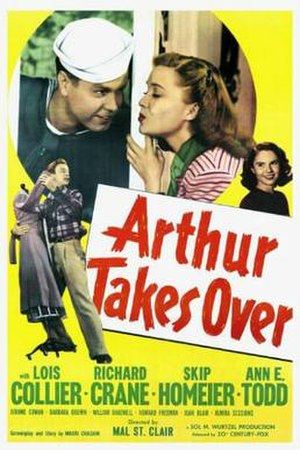 Arthur Takes Over - Theatrical release poster