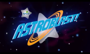 Astroblast! - Image: Astroblast! title card