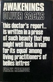 "Front cover: black background, title above author's name, below author's name is quote from Frank Kermode, ""This doctor's report... is written in a prose of such beauty that you might well look in vain for its equal among living practitioners of belles lettres."""
