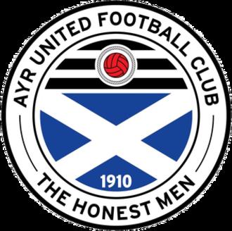 Ayr United F.C. - Image: Ayr United Crest