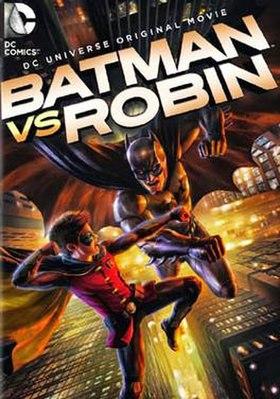 Bat vs robin cover