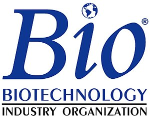 Logo of the Biotechnology Industry Organization.