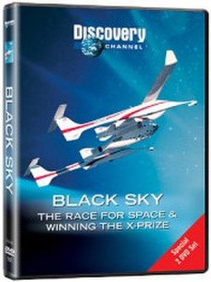 Black Sky: The Race For Space - Image: Black Sky, The Race For Space, dvd cover