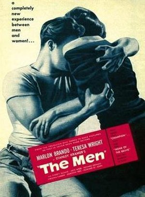 The Men (film) - Theatrical poster