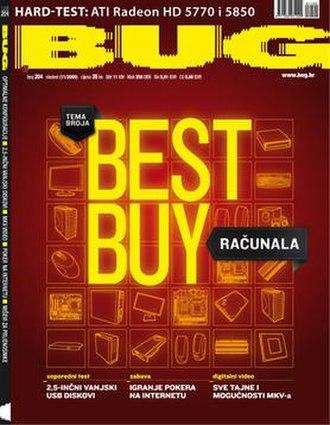 BUG (magazine) - BUG Magazine, Issue 204 (2009)