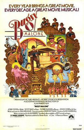 Bugsy Malone - Theatrical release poster by Charles Moll
