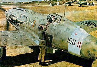 Macchi C.202 Italian fighter aircraft from World War II