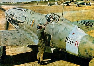 Macchi C.202 - C.202 of Regia Aeronautica 168ª Squadriglia, 54° Stormo CT c.1943