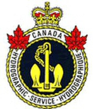 Heraldic badges of the Canadian government - Image: Canadian Hydrographic Service logo