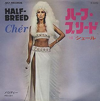 Half-Breed (song) - Image: Cher half JAPANESE cover