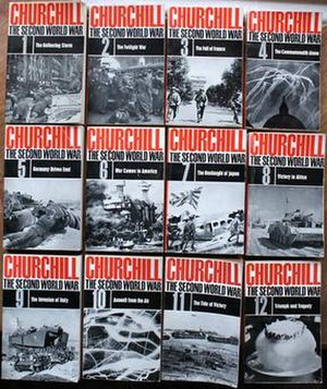 The Second World War (book series) - 1960s paperback edition in 12 volumes shared some titles with the first edition but for different portions of the work.
