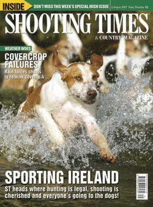 Shooting Times - Cover of Shooting Times, 2 August 2007.