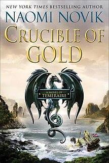 <i>Crucible of Gold</i> novel by Naomi Novik