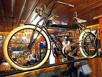 Glenn Curtiss - Curtiss Motorcycle at San Francisco Motorcycle Club in 2018