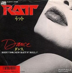 Dance (Ratt song) - Image: Danceratt